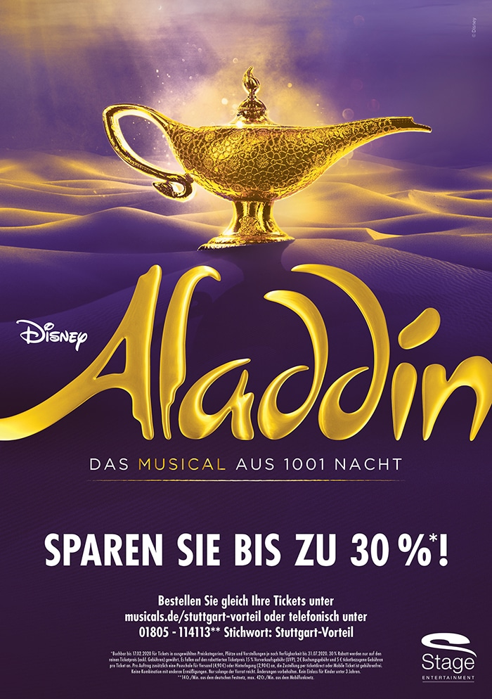 aladdin musical stuttgart 2020